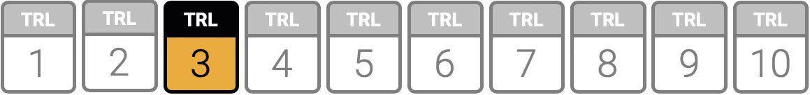TRL score 3 orange