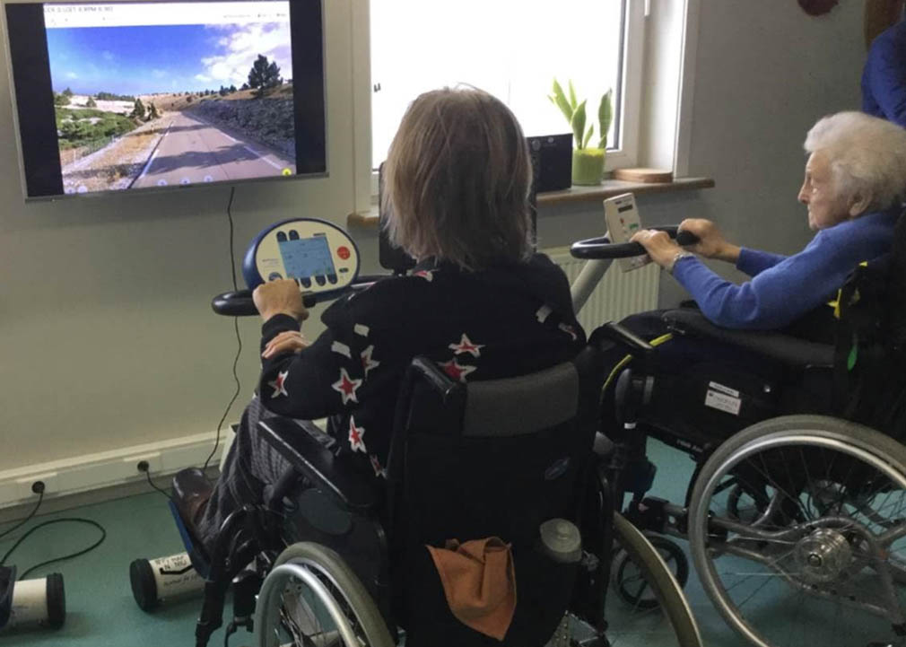 Memoride - a Belgian start-up that has developed a unique approach to helping elderly people stay active while in care.