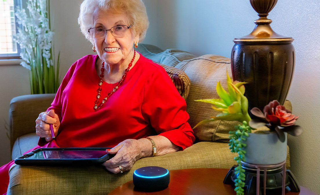 K4 Connect and Amazon have announced an initiative to provide more support to senior living residents during the outbreak distributing 8,000 Echo Dots
